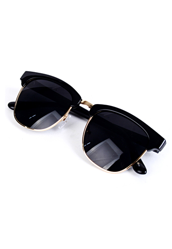 30744 Gold Border SunGlasses
