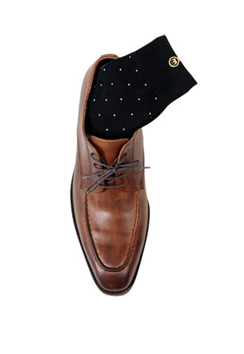 DOT SOCKS BLACK